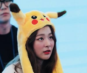 beauty, pikachu, and red velvet image