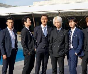 choi siwon, heenim, and Leeteuk image