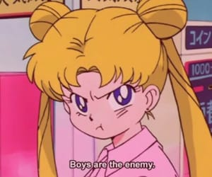 anime, sailormoon, and vaporwave image