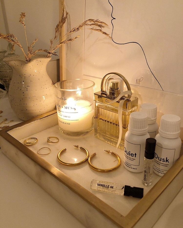 candle, perfume, and chloe image
