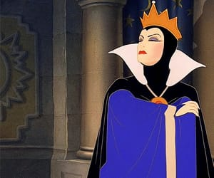 disney, evil, and Queen image