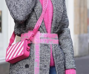 hot pink, purse, and luxury image