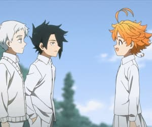 anime, gif, and yakusoku no neverland image