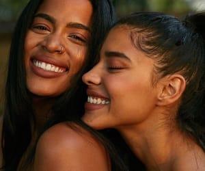 girls, smile, and melanin image