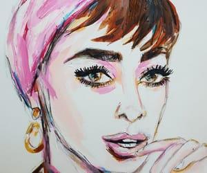 art, portrait, and draw image