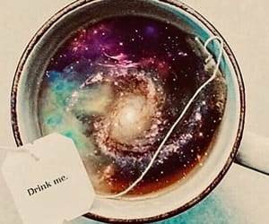cup, space, and universe image