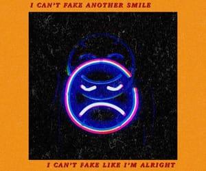 album, fake smile, and Lyrics image