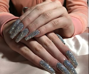 bedazzled, claws, and diamond image