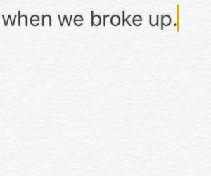 boyfriend, break up, and couple image
