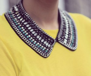 collar, fashion, and style image