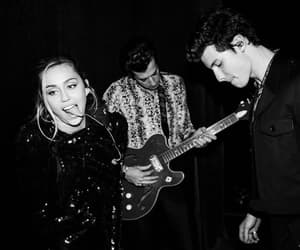 miley cyrus, shawn mendes, and singer image