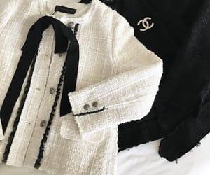 chanel, fashion, and tweed image