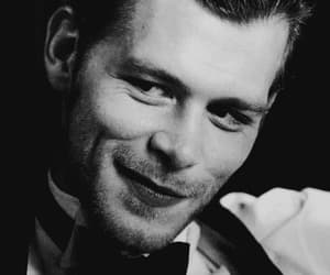 black and white, klaus mikaelson, and gif image