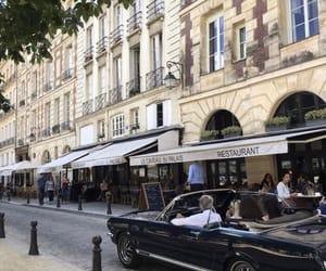 car, paris, and city image
