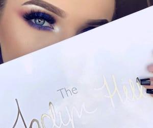 blue, makeup, and makeup artist image