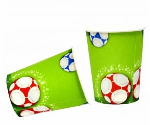 birthday party, football, and party supplies image