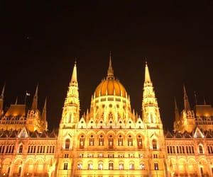 budapest, europe, and parliament image