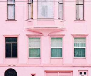 architecture, pink, and pastel image