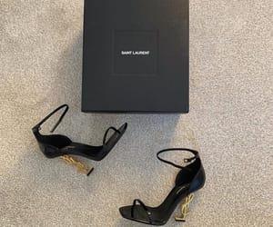 brand, elegance, and heels image