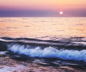 ocean, pastel, and photography image