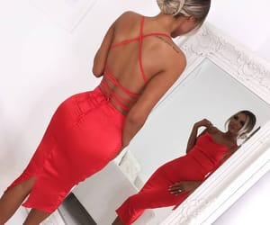 fashion and red dress image