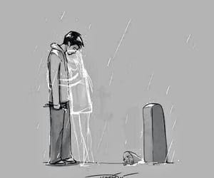 sad, dead, and cry image