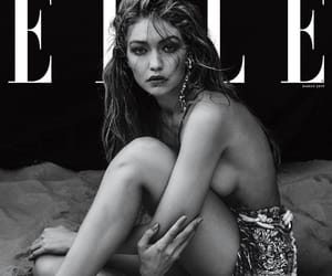 Elle, model, and gigi hadid image