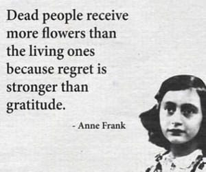 anne frank and quote image