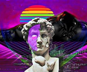 aesthetics, digital collage, and vaporwave image
