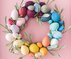 colors, easter, and colours image