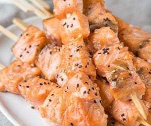 delicious and salmon image