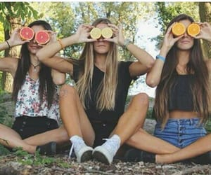 amigas, chill, and FRUiTS image