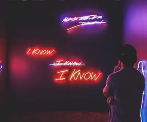 neon, light, and art image