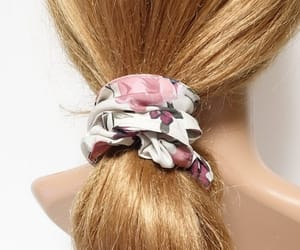 scrunchies, spring scrunchies, and floral scrunchies image