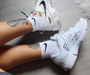 air max, off white, and sneakers image