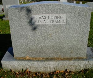 cemetery, die, and funny image