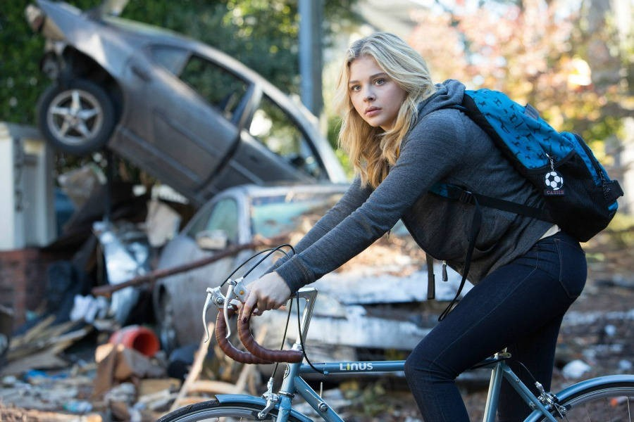 bicycle, the fifth wave, and girl image