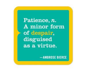 teal, despair, and patience image