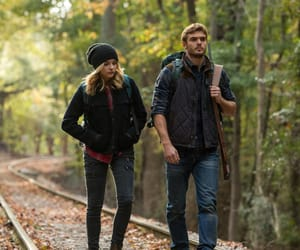 forest, alex roe, and movie image