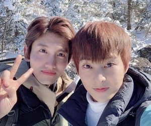 xiumin, exo, and kim minseok image