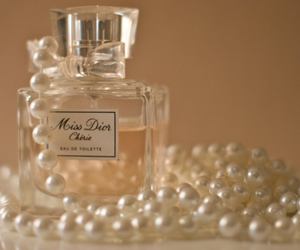 dior, girly, and pearls image