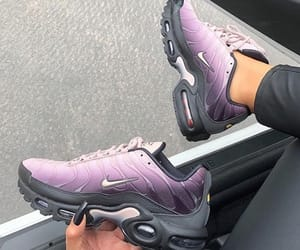 black, purple, and shoes image