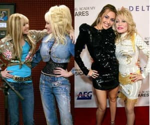 beauty, dolly parton, and hannah montana image