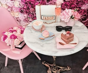 dior, girly, and pink image