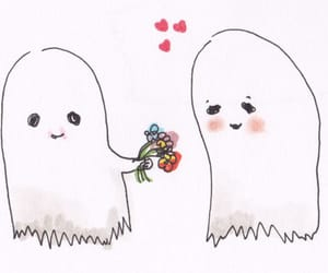 ghost, love, and cute image