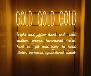 aesthetic, yellow, and gold image