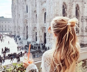 architecture, Barcelona, and blonde image