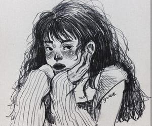 art, illustration, and girl power illustration image