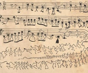 music, dance, and draw image