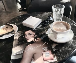 chanel, coffee, and style image